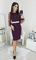 Платье пояс камни в расцветках 31284, фото 2