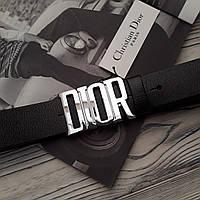 Ремень Dior 4см кожа + подарок, кожаные ремни Dior, кожаный ремень dior, ремни диор, кожаный ремень Диор, фото 1