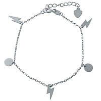 Серебряный браслет SilverBreeze без камней 1994146, КОД: 1195571