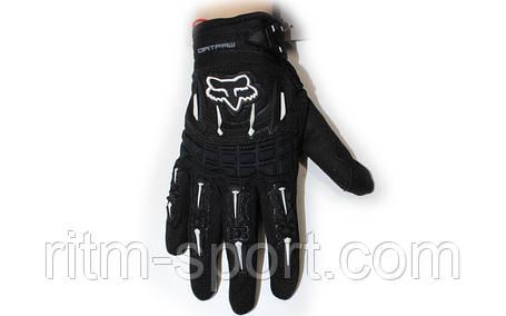 Мотоперчатки текстильные FOX, фото 2