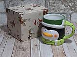 """Чашка пингвин новогодняя 380мл """"Санта"""", фото 3"""