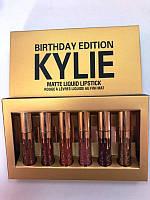 Набор из 6 матовых помад Kylie Birthday Edition 645471882, КОД: 157466