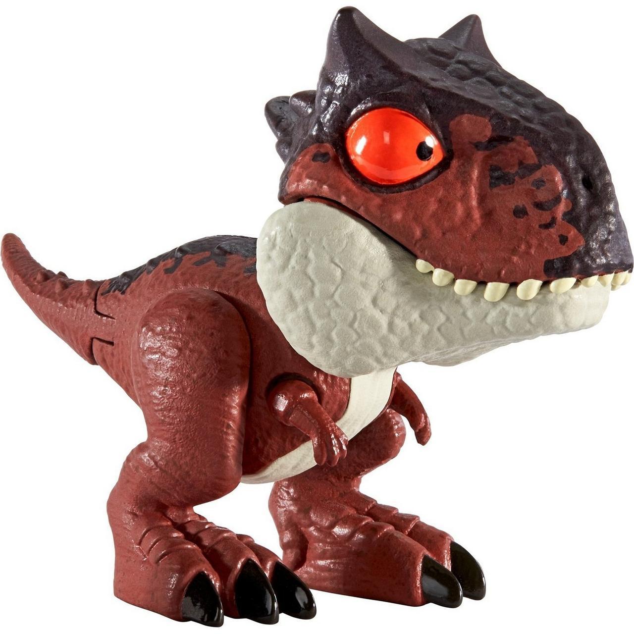 """Міні-фігурка """"Кусаємо всюди"""" Jurassic World з фільму """"Світ Юрського періоду"""" Карнотавр GGN32 / GGN26"""