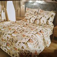Ткань для пошива постельного белья бязь Голд сублимация 47