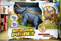 """Динозавр музыкальный """"Трицератопс"""" DINOSAURS'ISLAND TOYS (RS6167A), фото 1"""