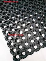 Коврик грязезащитный резиновый Соты К-36 YPgroup 60*80*2.5 см
