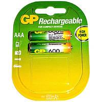 Аккумуляторы GP R3/AAA 600 mAh (Блистер 2 батарейки)