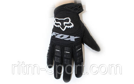 Мотоперчатки текстильные FOX M-4538, фото 2