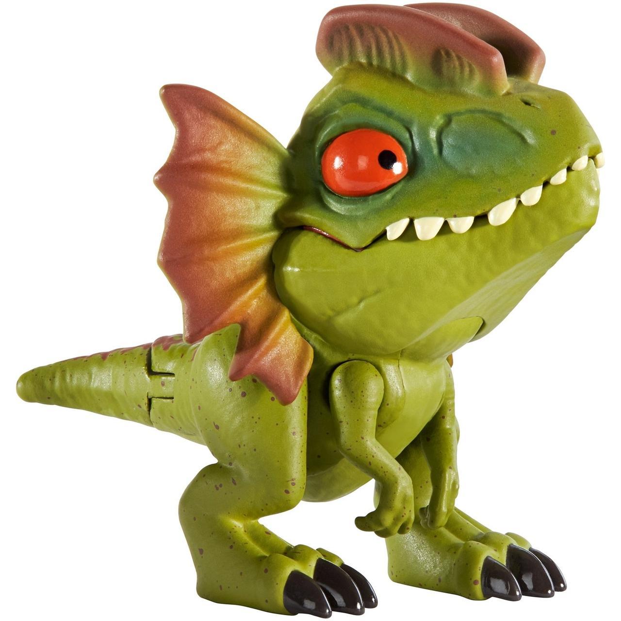 """Міні-фігурка """"Кусаємо всюди"""" Jurassic World з фільму """"Світ Юрського періоду"""" Дилофозавр GGN29 / GGN26"""