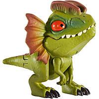 """Міні-фігурка """"Кусаємо всюди"""" Jurassic World з фільму """"Світ Юрського періоду"""" Дилофозавр GGN29 / GGN26, фото 1"""