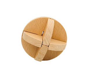Деревянная игрушка Головоломка MD 2056 (Узловой мяч MD 2056-2)