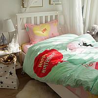 Комплект постельного белья С днем рождения, Зебра! (полуторный) Berni