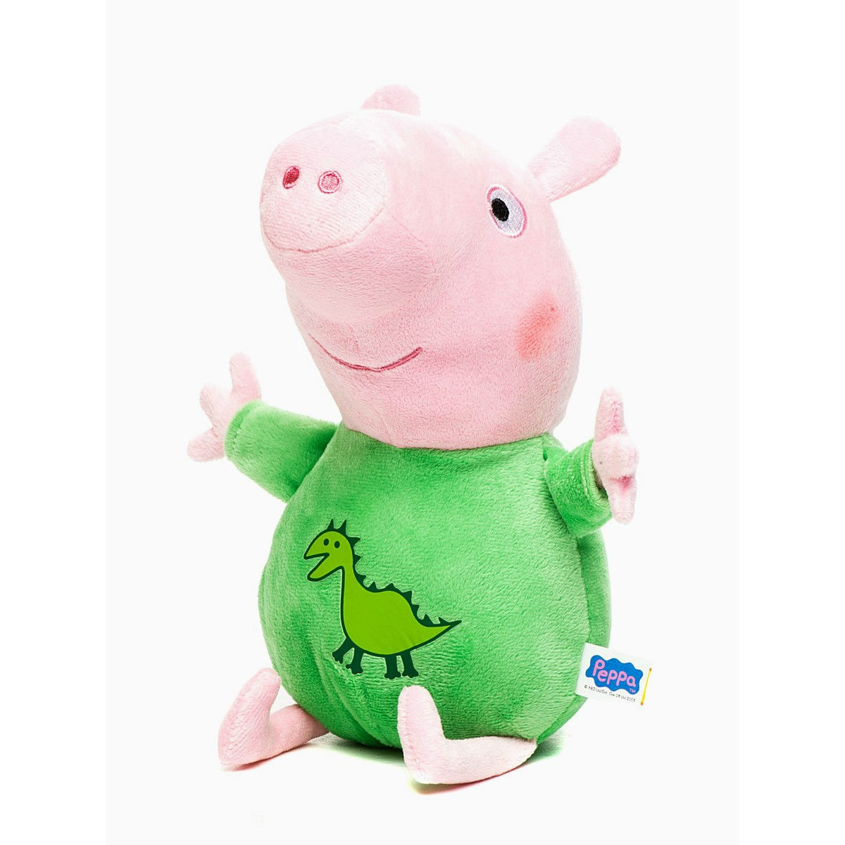 М'яка іграшка - Джордж з вишитим драконом (музичний, 25 см)