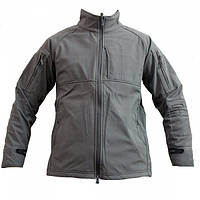 Куртка без капюшона Shark Skin Soft Shell Gray, фото 1