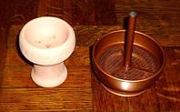 Внешняя чаша для кальяна с ситечком