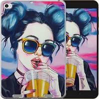 Чехол EndorPhone на Xiaomi Mi Pad 2 Арт-девушка в очках 3994u-313, КОД: 930121