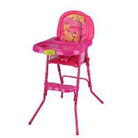 Стульчик для кормления Kronos Toys HC100A Розовый intHC100A PINK, КОД: 961375