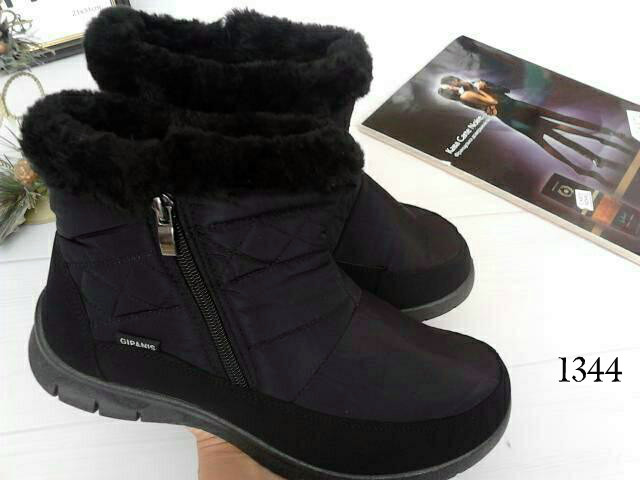 Женские ботинки дутики зима