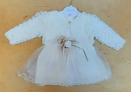 Нарядное детское платье 9-18 мес на девочек Турция оптом