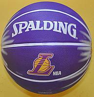 М'яч баскетбольний №7 Spalding 63-864 Los Angeles Lakers