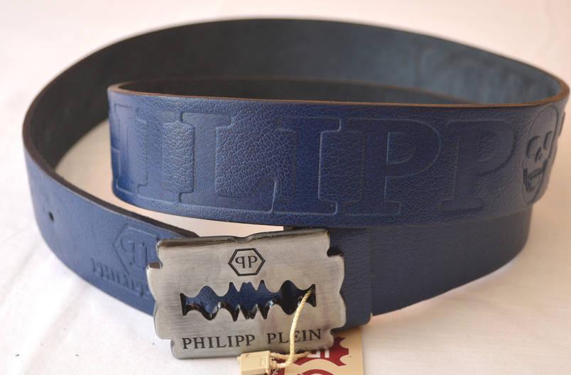 Кожаный  ремень PHILIPP PLEIN (копия), фото 2