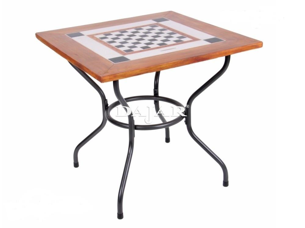 Стол из камня CHESS 80х80 см