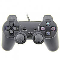 Беспроводной геймпад джойстик PS2 Серый 31-SAN130, КОД: 1024271