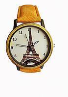 Часы женские кварцевые Paris Yellow, КОД: 111889