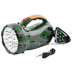 Фонарь переносной(фонарь светодиодный аккумуляторный) YAJIA 2807, 22+7LED