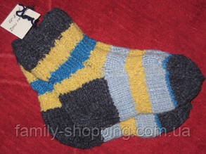 Шкарпетки дитячі футболки ручної роботи, р. 28-29.