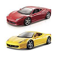 Автомодель - 458 Italia (1:24) (асорті жовтий, червоний), фото 1