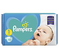 Подгузники памперсы для детей новорожденных Pampers newborn 1 2-5 kg 43 шт