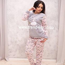Пижама Флисовая. Теплая пижама