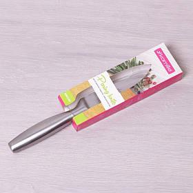 Кухонный нож из нержавеющей стали для овощей лезвие 9 см Kamille КМ-5144
