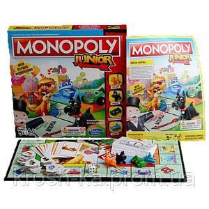 Настольная игра Монополия Junior Hasbro 6115834