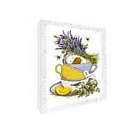 Декупаж на холсте Идейка 94707 Чай для любимой tsi49008, КОД: 1127446