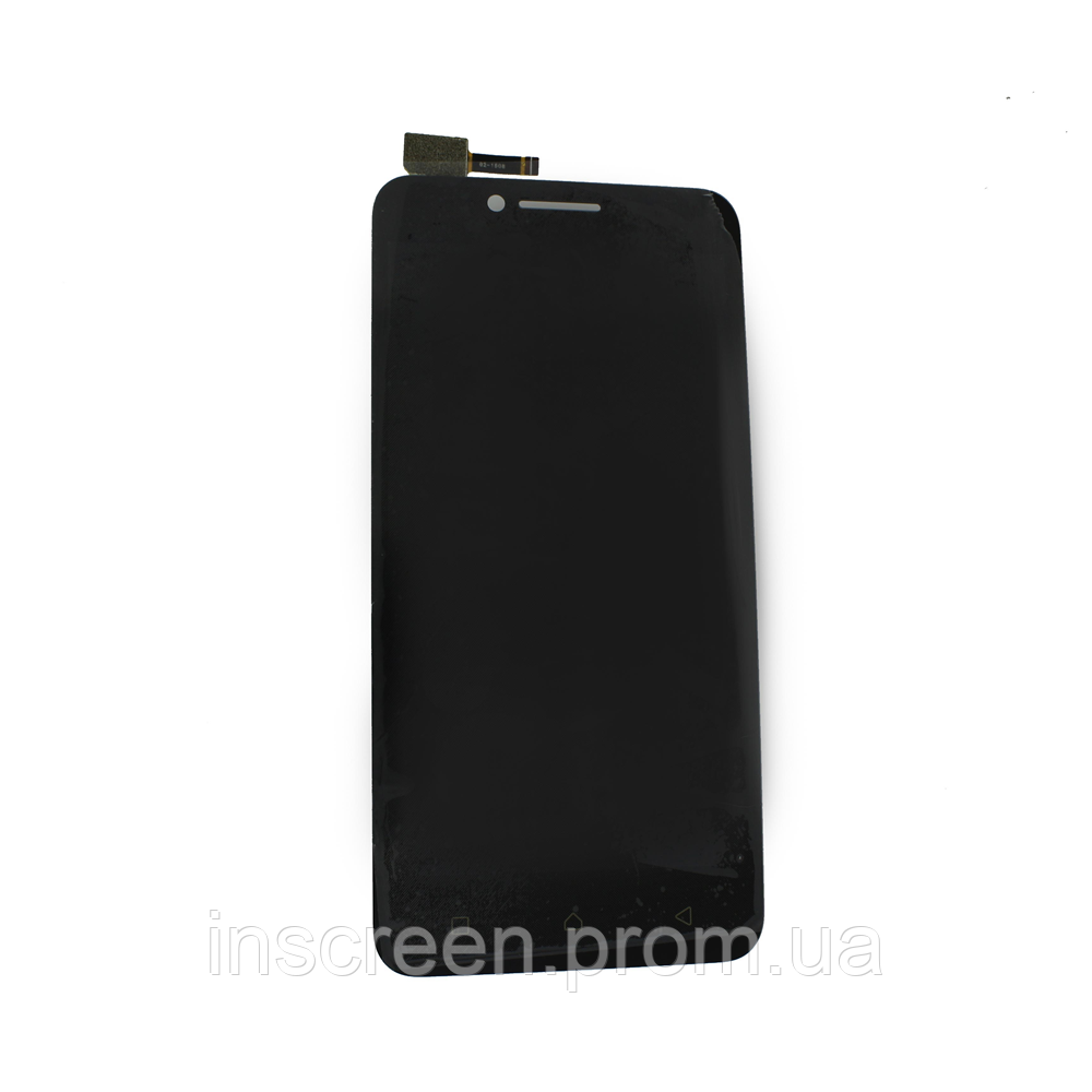 Экран (дисплей) Lenovo A2020 Vibe C с тачскрином (сенсором) черный