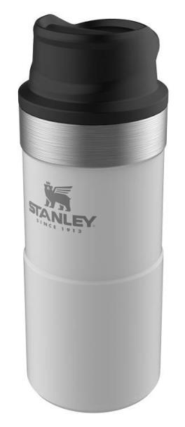 Термокружка Stanley CLASSIC TRIGGER ACTION TRAVEL MUG 0,35 L белая   (10-06440-016)