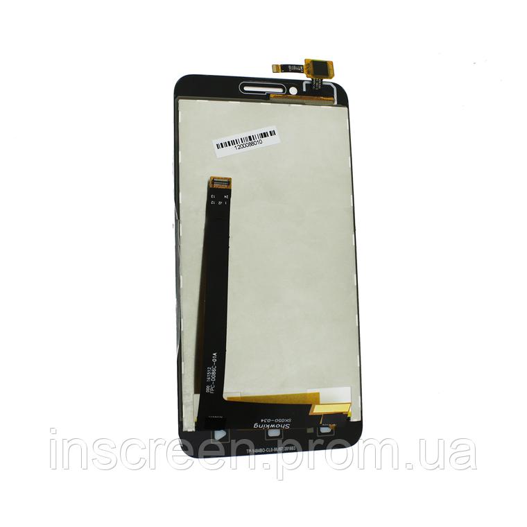 Экран (дисплей) Lenovo A2020 Vibe C с тачскрином (сенсором) черный, фото 2