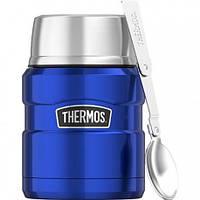 Термос для еды Thermos Stainless King Food Flask, Metallic Blue , 470 ml. (173026)