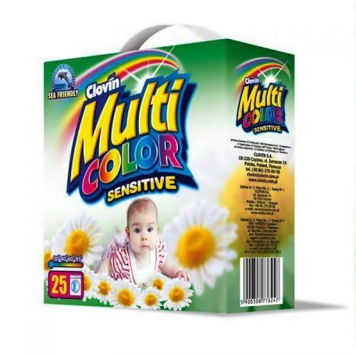 Порошок універсальний Multi color sensitive для дитячого одягу 2,5 кг .