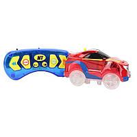 Детская гоночная трасса Dazzle Tracks 187 с машинкой на пульте + ПОДАРОК: Настенный Фонарик с регулятором