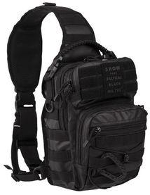 Pюкзак Mil-Tec однолямочный TACTICAL BLACK ONE STRAP ASSAULT PACK SMALL  (14059188), Германия