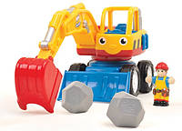 Игрушка WOW TOYS Dexter the Digger Экскаватор, фото 1