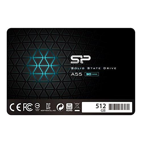 SSD накопитель Silicon Power Ace A55 512 GB (SP512GBSS3A55S25)