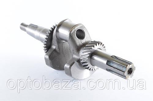 Коленчатый вал под шлиц для двигателей 6.5 л.с. (168F)