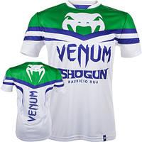 Футболка Venum Shogun UFC Edition Dry Tech T-shirt Ice - Green (EU-VENUM-Shogun-Dry1), фото 1
