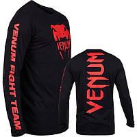Реглан Venum Pro Team 2.0 Long Sleeve T-Shirt Red Devil (V-2025), фото 1