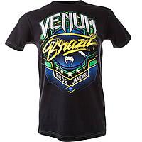 Футболка Venum Carioca 3 T-shirt - Black (VENUM-1310), фото 1