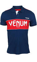 Футболка Venum USA Team Polo - Navy/Red (EU-VENUM-USA), фото 1
